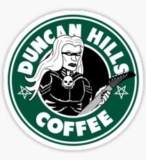 Duncan Hills Coffee (Skwisgaar) Sticker