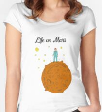 Life on Mars Women's Fitted Scoop T-Shirt