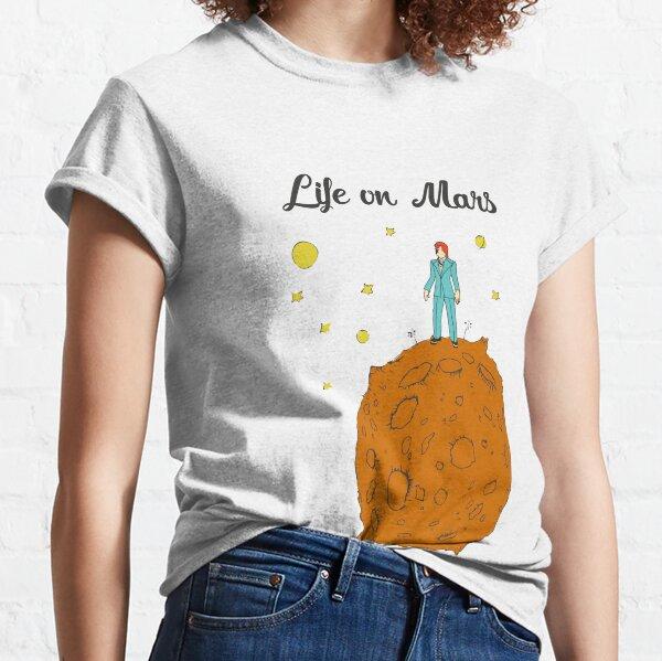 Vie sur Mars T-shirt classique