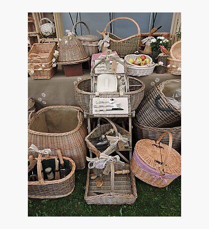 Pick Your Picnic Basket Photographic Print