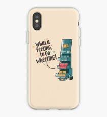 WHAT A FEELING, TO GO WHEELING iPhone Case