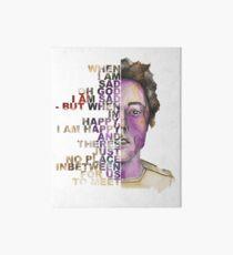 """""""Flashlight"""" Brian Sella Album Cover graphic Art Board"""