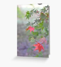 Autumn in Pastel Greeting Card