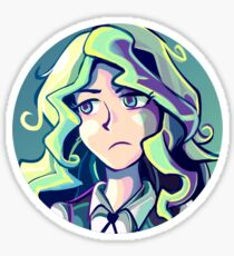 Little Witch Diana Portrait Sticker