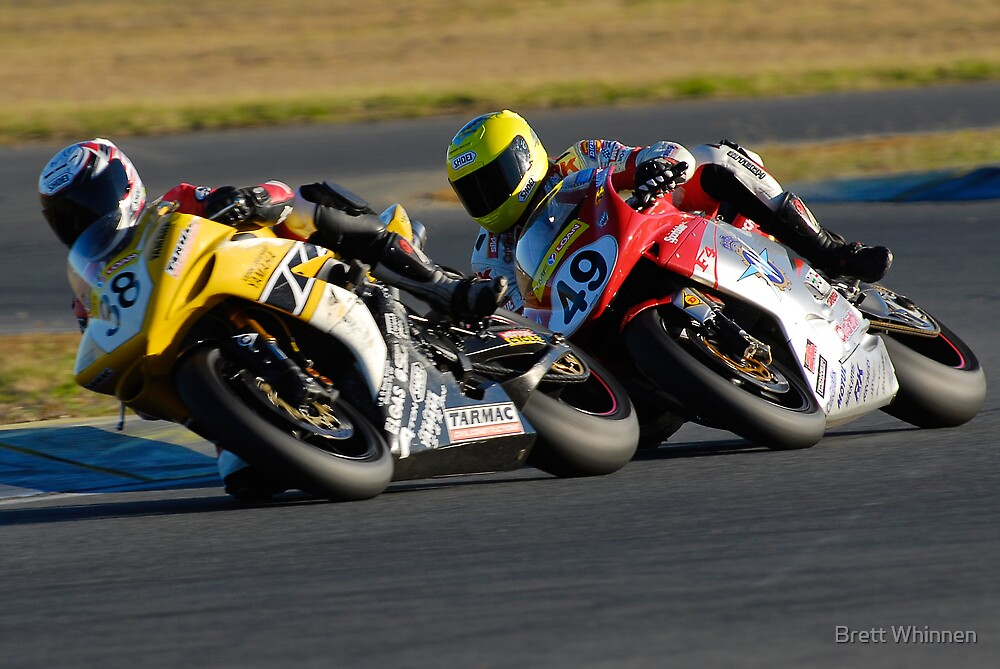 Close Proximity - Superbikes by Brett Whinnen