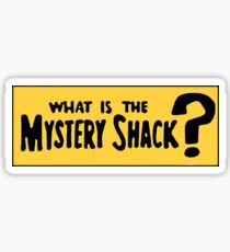 Mystery Shack Bumper Sticker Sticker