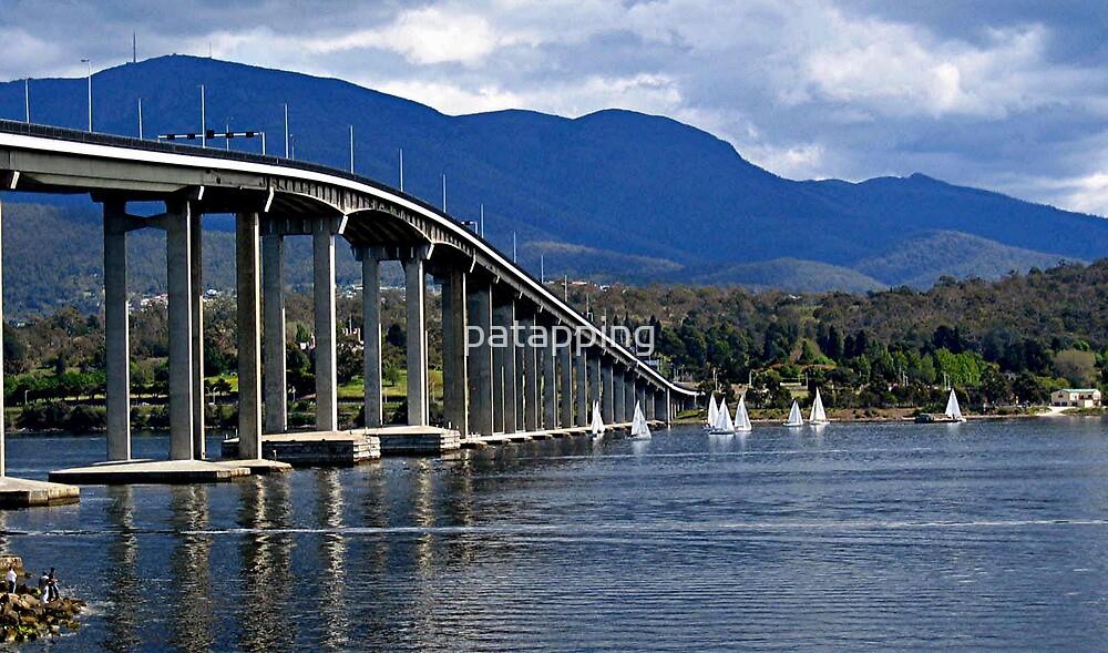 Tasman Bridge, Tasmania by patapping