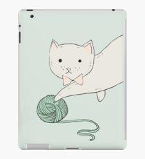 Cat with Yarn iPad Case/Skin