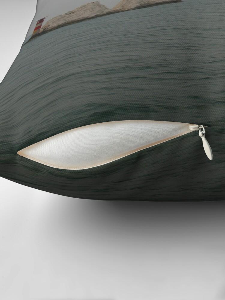 Alternate view of The Needles Throw Pillow