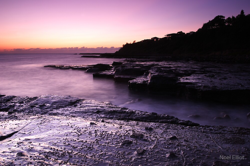 Culburra Beach Sunrise #6 by Noel Elliot
