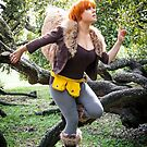 Squirrel Girl looking Up by KAMIcomics