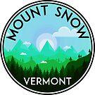 SKI MOUNT SNOW VERMONT SKIING SNOWBOARDING HIKING CLIMBING DOVER 3 by MyHandmadeSigns