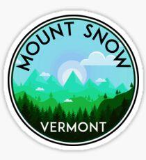 SKI MOUNT SNOW VERMONT SKIING SNOWBOARDING HIKING CLIMBING DOVER 3 Sticker