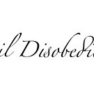 civil disobedience by TatuShop