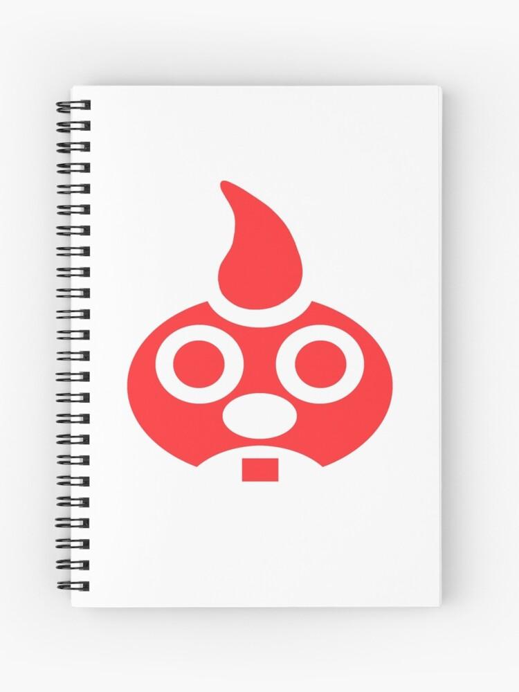Red E  Gadd Logo - Super Mario Sunshine | Spiral Notebook