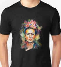 Frida Kahlo (Dark Edition) Unisex T-Shirt