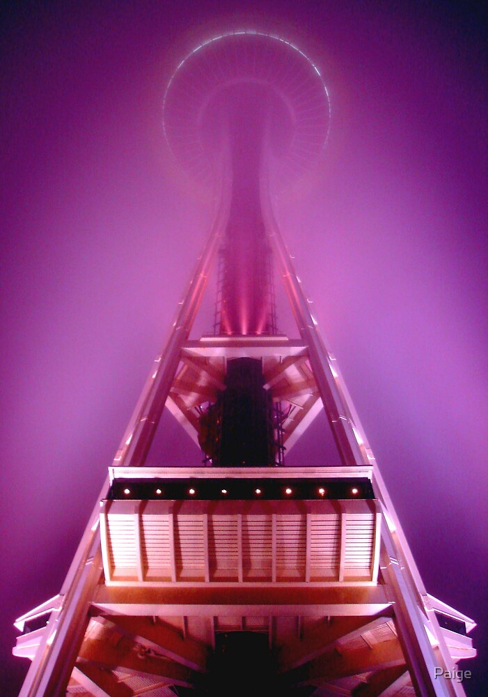 Seattle Space Needle by Paige
