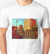 PAINTINGS OF MCGILL UNIVERSITY CANADIAN CITY SCENES BY CANADIAN ARTIST CAROLE SPANDAU Unisex T-Shirt