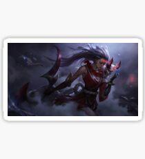 Diana Bloodmoon - League of Legends Sticker