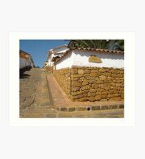 Spanish Village Art Print