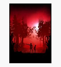 Walking Dead Photographic Print