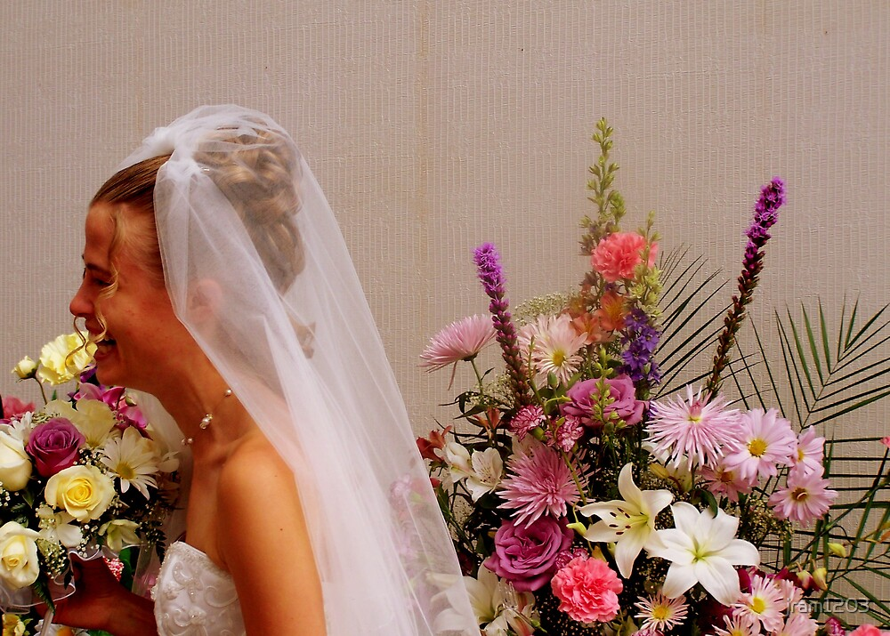 Flowers and a side of Bride by jram1203