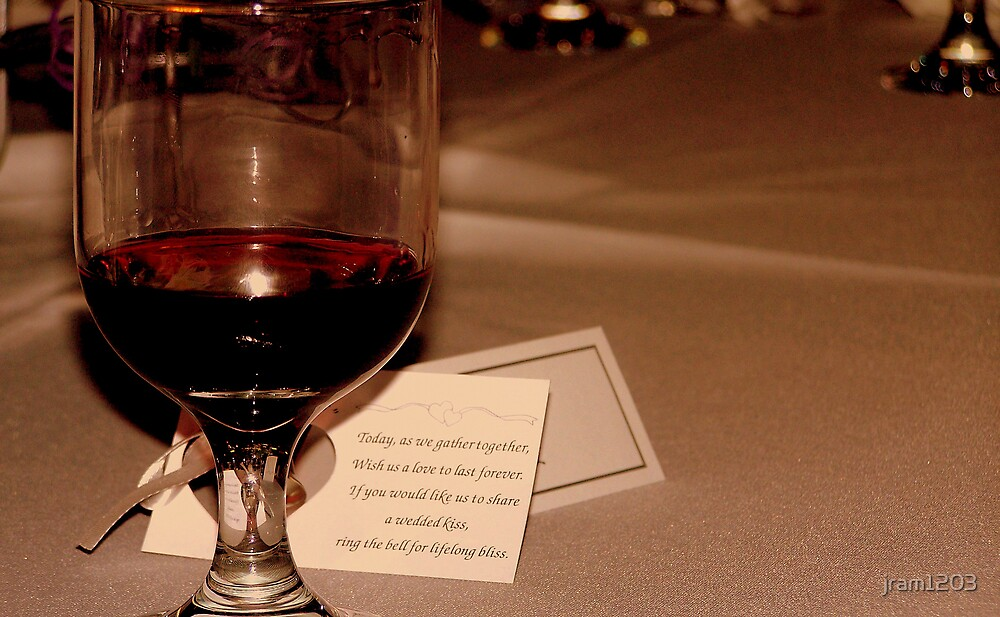 Wine and a message by jram1203