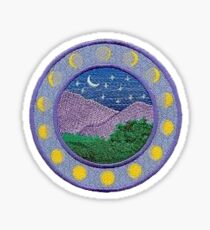 Moon phase patch Sticker