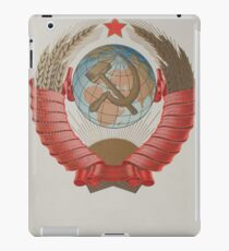 Coat of arms of the Soviet Union iPad Case/Skin