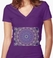 Inward Outward Women's Fitted V-Neck T-Shirt