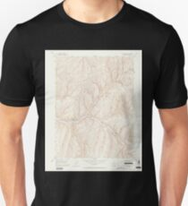 USGS TOPO Map Colorado CO No Name Ridge 401510 1952 24000 Unisex T-Shirt