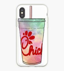 Chick-Fil-A Watercolor iPhone Case