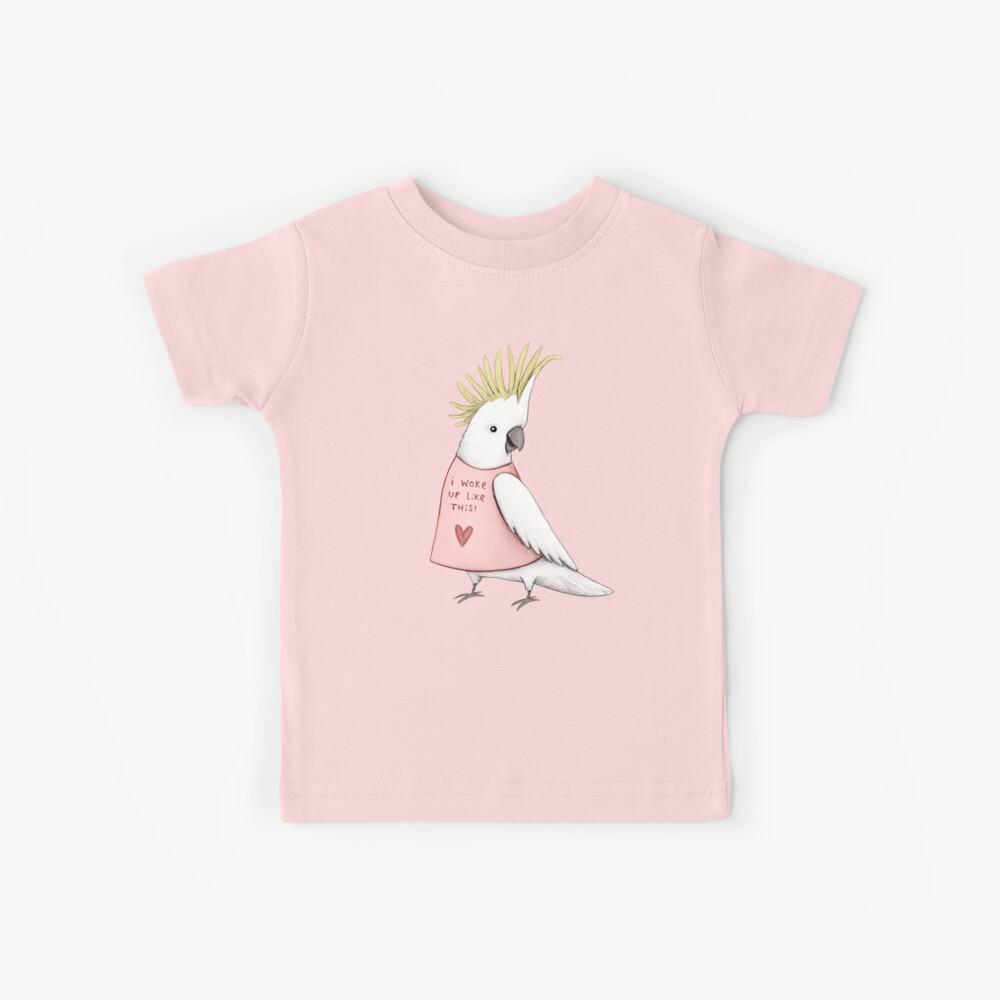 Hübscher Kakadu Kinder T-Shirt