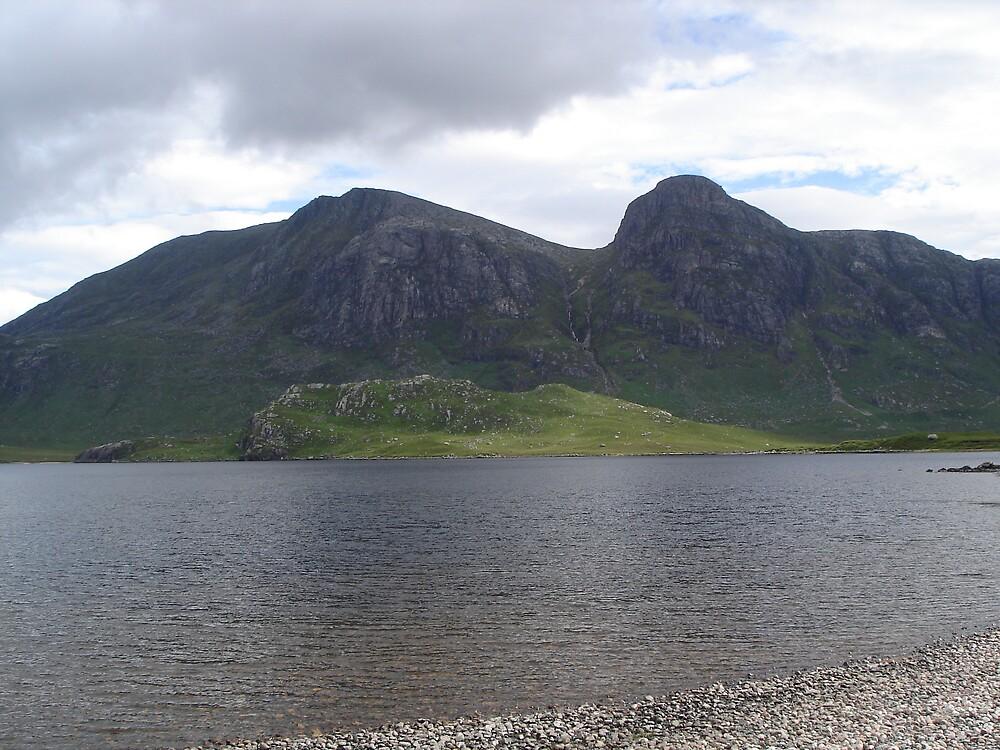 Mountain lake by skippy