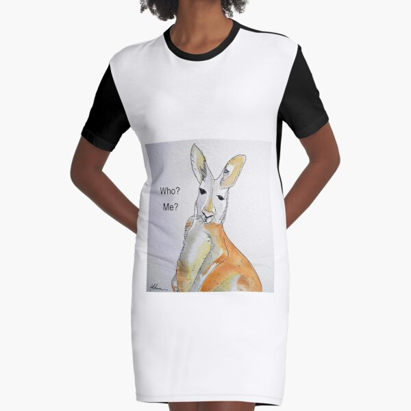 KANGAROO - WHO? ME? T-Shirt Kleid