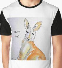 KANGAROO - WHO? ME? Grafik T-Shirt