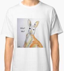 KANGAROO - WHO? ME? Classic T-Shirt