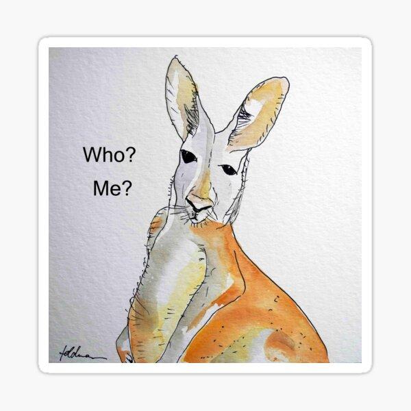 KANGAROO - WHO? ME? Sticker