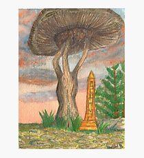 Morrowind Mushroom Photographic Print