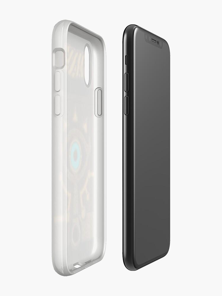 Alternative Ansicht von Sheikah Schiefer iPhone-Hülle & Cover