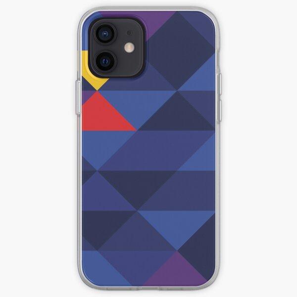 Red Bull Racing F1 Team Geometric Print Funda blanda para iPhone