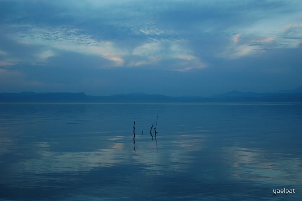 Sea of  Galilee by yaelpat