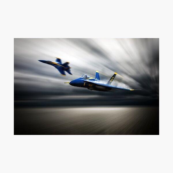 Blue Angel 5 Photographic Print