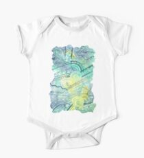 Abstract Doodle One Piece - Short Sleeve
