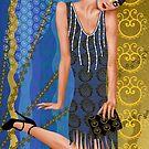 Fleur de Bleue by Troy Brown