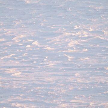 Snowdrifts bathed in sunshine by NicoleK-design