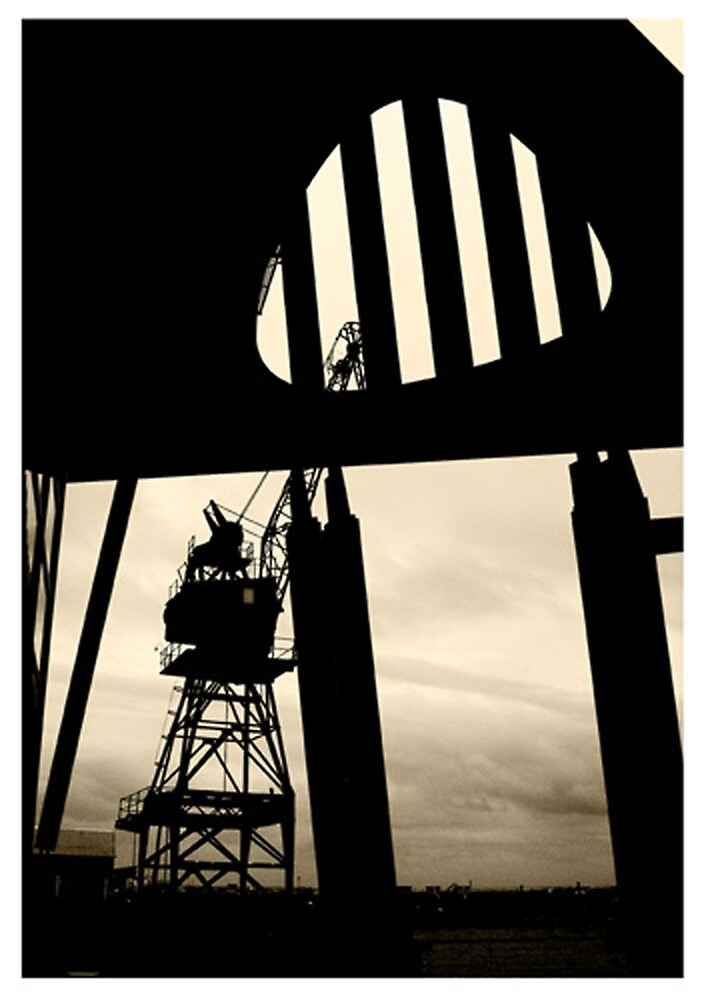 Harbour gantry by alistair mcbride