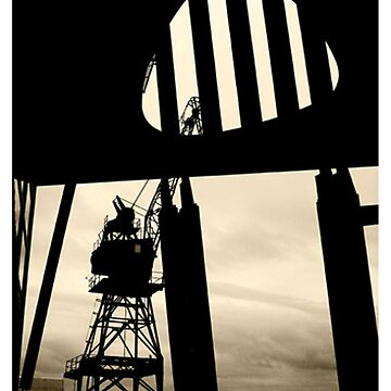 Harbour gantry by alistair