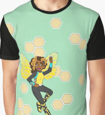 Busy Little Bumblebee Graphic T-Shirt