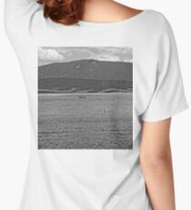 Lake Granby Views  Women's Relaxed Fit T-Shirt